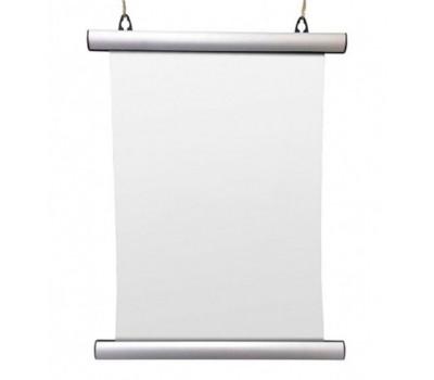 Держатель постера ширина 600mm матовое серебро