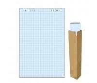 Блок для флипчарта 20 листов в клетку цвет голубая пастель