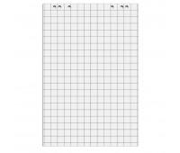 Блоки бумажные для флипчарта белая 50 листов в клетку