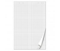 Блок бумажный BRAUBERG 50 листов КЛЕТКА