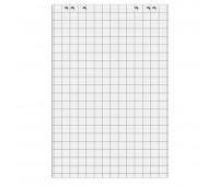 Блоки бумажные для флипчарта цвет белый 20 листов клетка