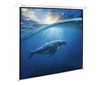 Экран настенный 180x180 электропривод Brauberg MOTO 4:3