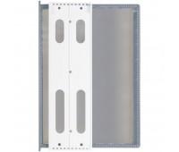 Перекидная информационная система А4, на 10 панелей. Цвет серый