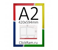 Рамка Нельсон А2, любой цвет по RАL, профиль 62